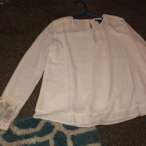 White professional blouse